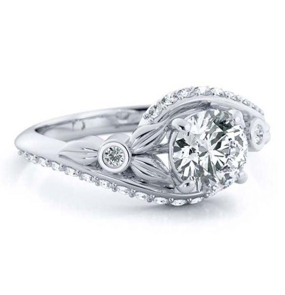 Flo Lab Grown Diamond Ring
