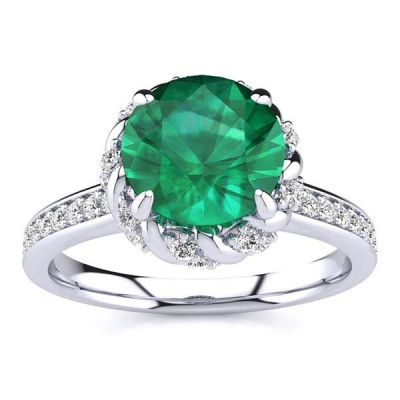 Sultana Emerald Ring
