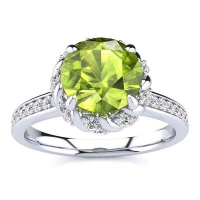 Sultana Peridot Ring