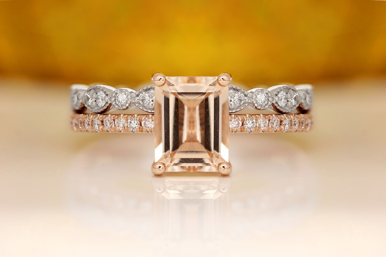A Buying Guide to Morganite Engagement Rings