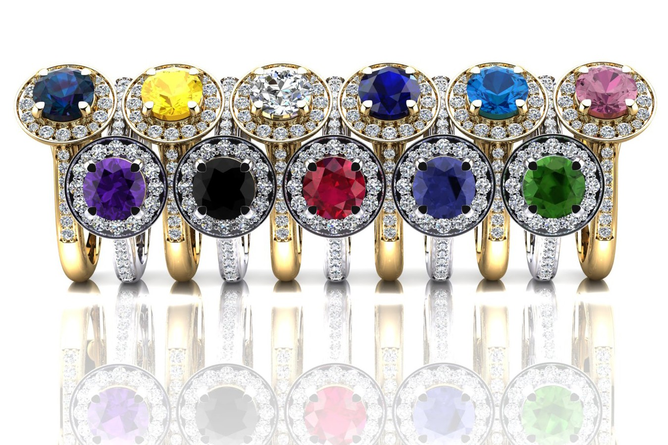 Step Away from Tradition and Consider These Overlooked Gemstone Rings