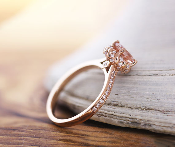 shop morganite rings